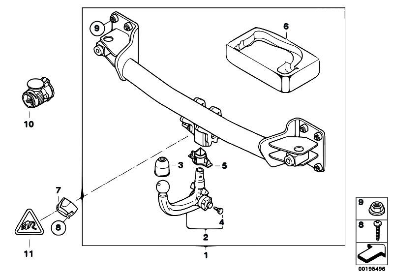Original Parts for E71 X6 50iX N63 SAC / Equipment Parts