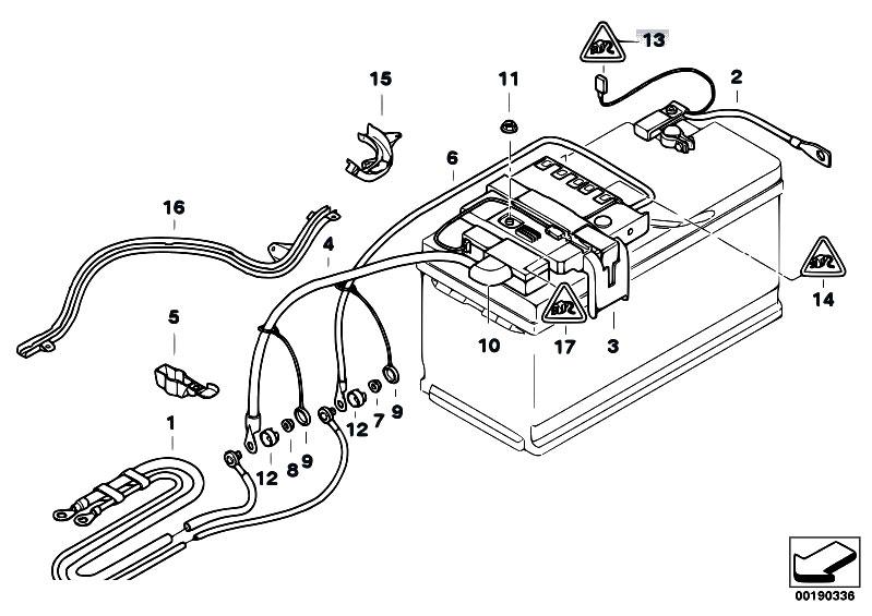 Original Parts for E90 335i N54 Sedan / Vehicle Electrical