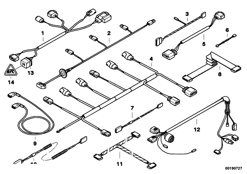 Original Parts for E61 525i N52 Touring / Vehicle
