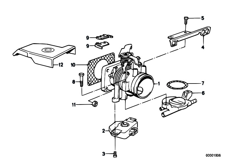 Original Parts for E30 318i M40 2 doors / Fuel Preparation