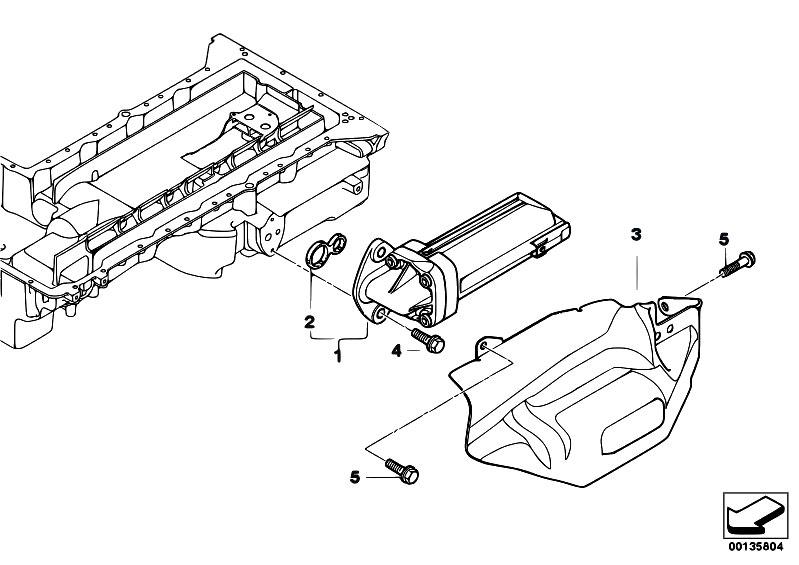 Original Parts for E60 M5 S85 Sedan / Engine/ Lubrication