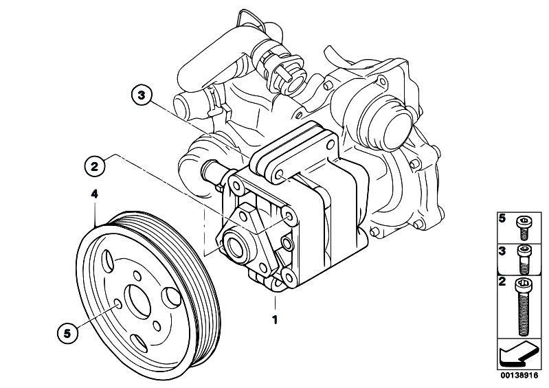 Original Parts for E46 316ti N42 Compact / Steering/ Power