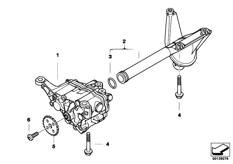 Original Parts for E60 530i N52 Sedan / Engine