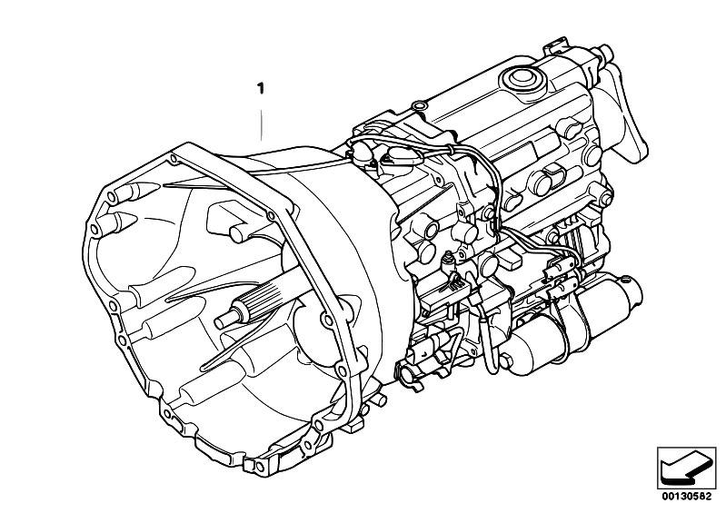 Original Parts for E64 645Ci N62 Cabrio / Manual