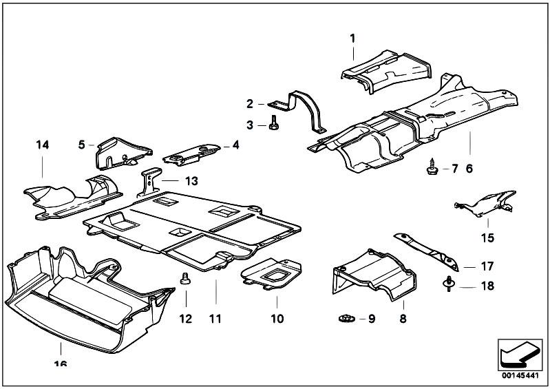 Original Parts for E36 318ti M44 Compact / Vehicle Trim