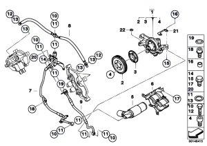 Original Parts for E60 M5 S85 Sedan  Engine Vanos
