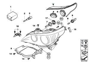Original Parts for E60 530d M57N2 Sedan  Lighting