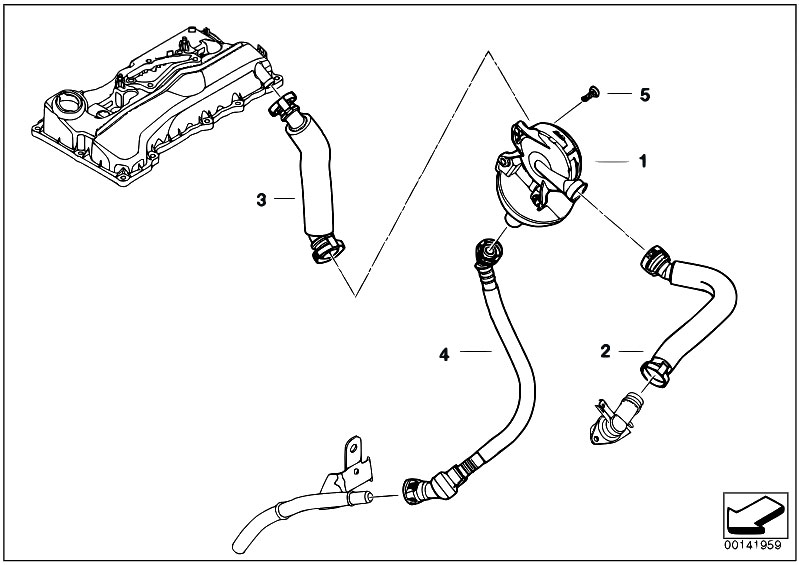 Original Parts for E91 318i N46 Touring / Engine