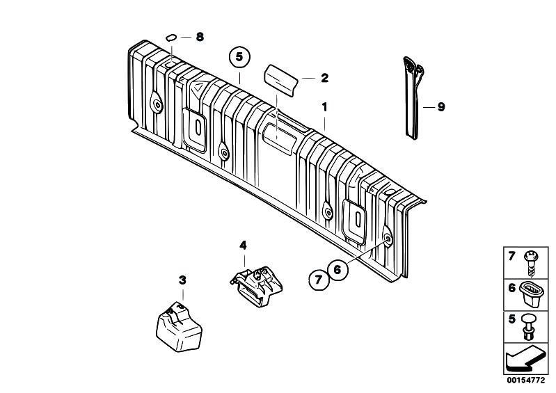 Original Parts for E92 330d N57 Coupe / Vehicle Trim