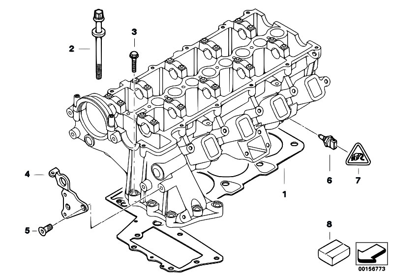 Original Parts for E46 320d M47N Touring / Engine