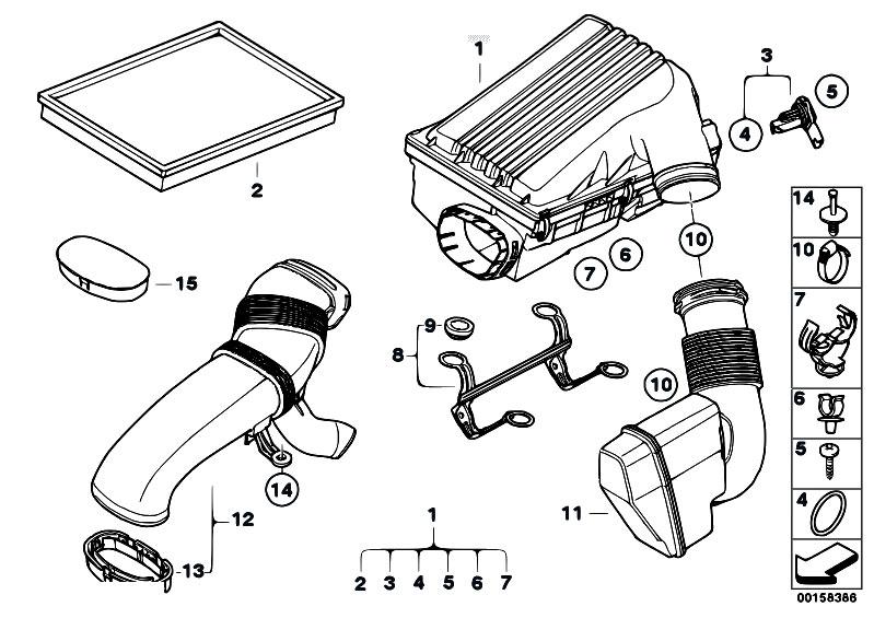 Original Parts for E70 X5 3.0si N52N SAV / Fuel