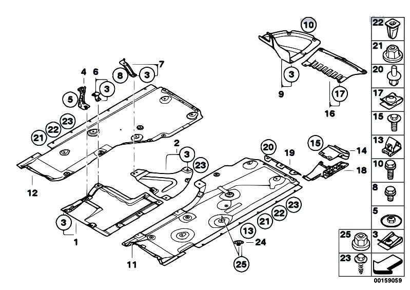 Original Parts for E82 123d N47S Coupe / Vehicle Trim