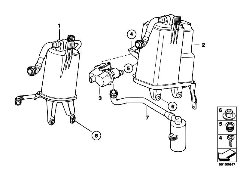 Original Parts for E70 X5 4.8i N62N SAV / Fuel Supply