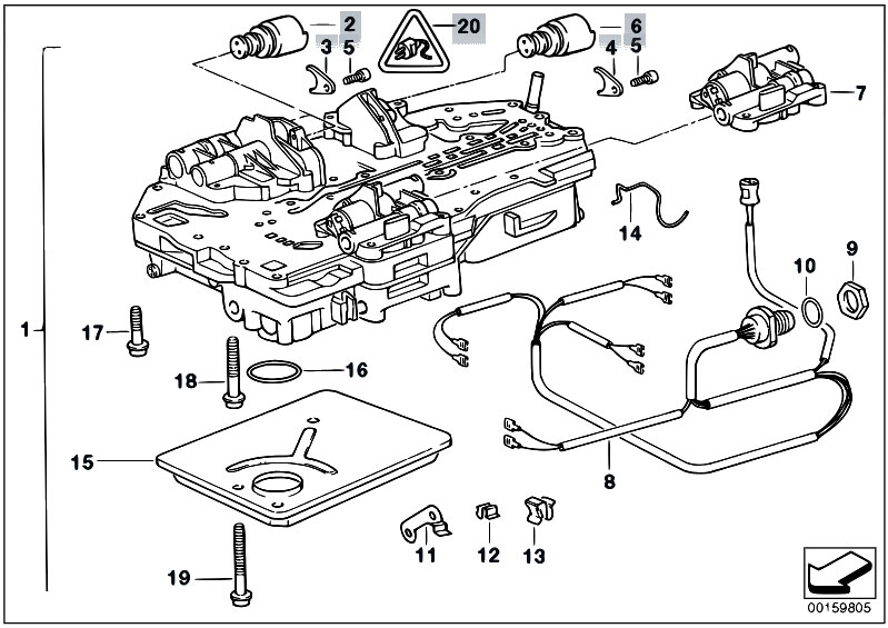 Original Parts for E34 535i M30 Sedan / Automatic