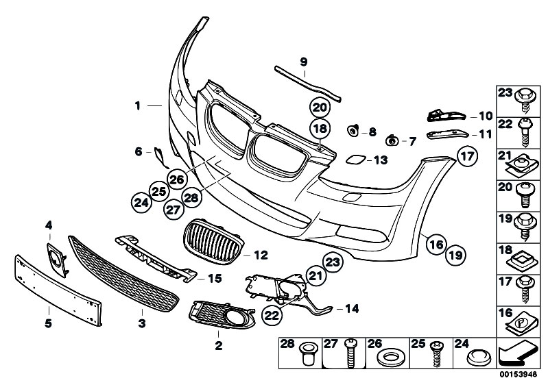 Original Parts for E92 320i N43 Coupe / Vehicle Trim/ M