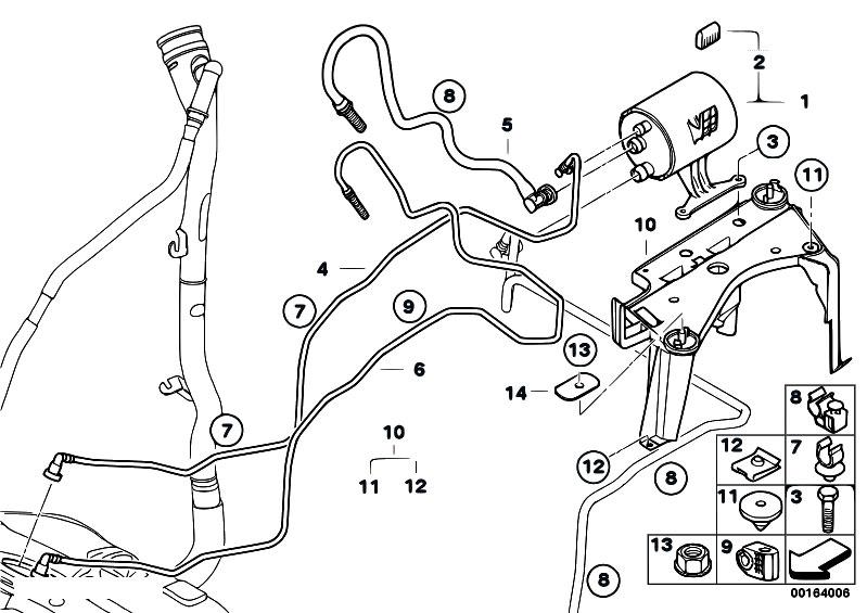 Original Parts for E92 316i N43 Coupe / Fuel Supply