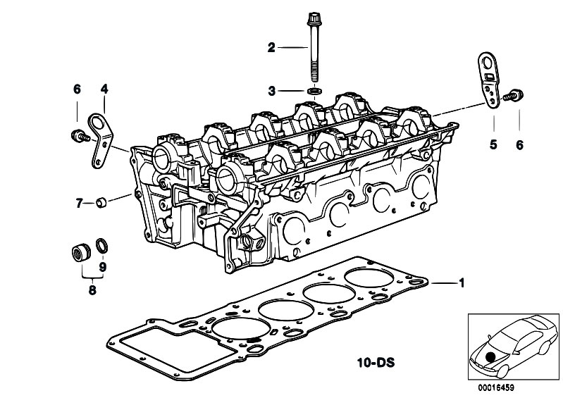 Original Parts for E38 740iL M62 Sedan / Engine/ Cylinder