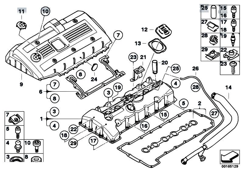 2007 bmw engine diagram