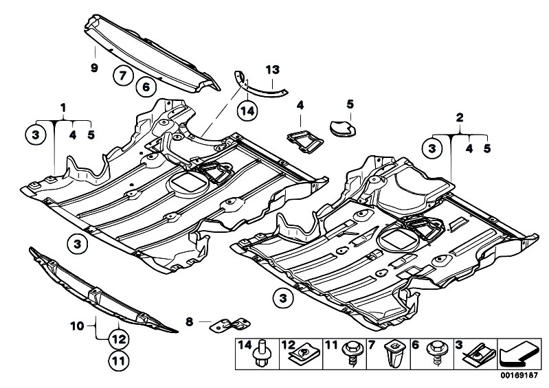 Original Parts for E81 116i 1.6 N43 3 doors / Vehicle Trim
