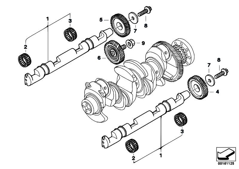 Original Parts for E83N X3 2.0d N47 SAV / Engine