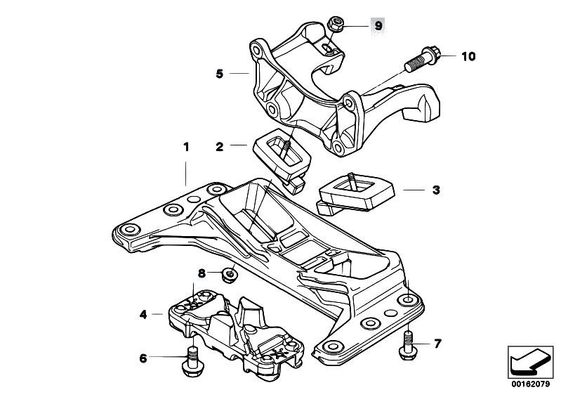 Original Parts for E60 525i M54 Sedan / Engine And