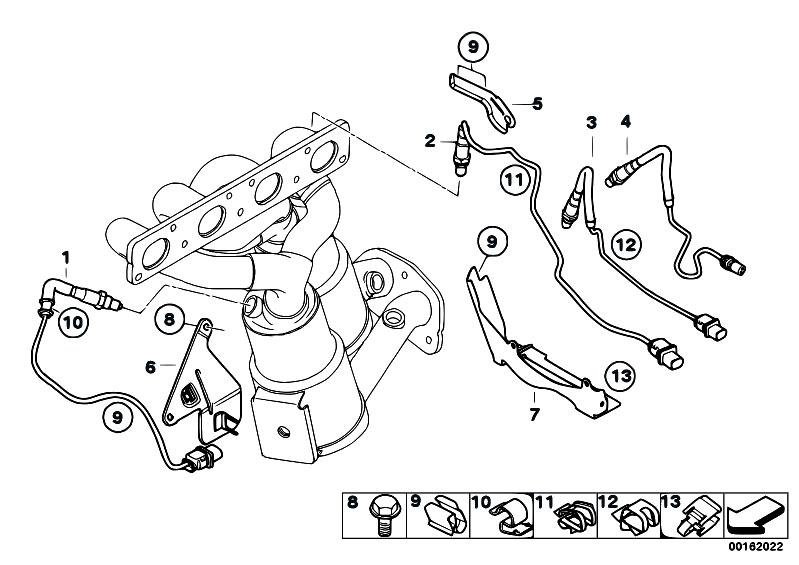 Original Parts for E93 320i N46N Cabrio / Exhaust System