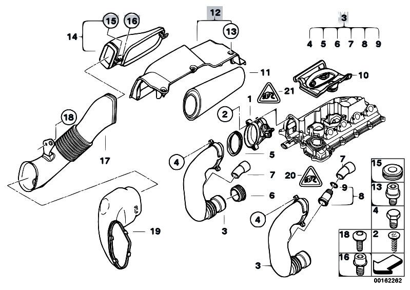 Original Parts for E60N 520d M47N2 Sedan / Fuel