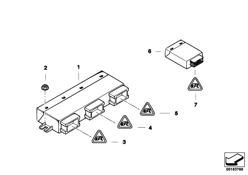 Original Parts for E70 X5 4.8i N62N SAV / Vehicle