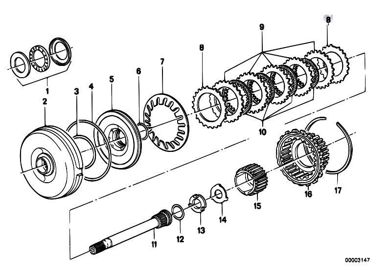 Original Parts for E30 318i M10 4 doors / Automatic