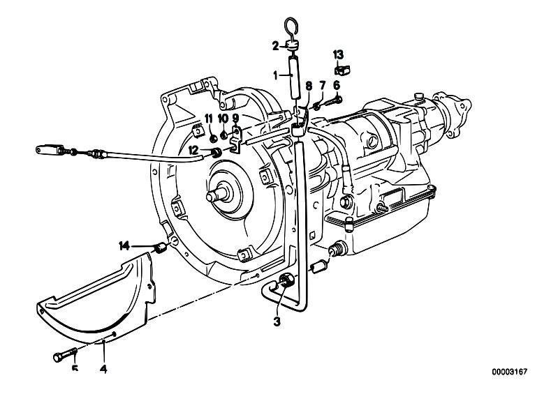 Original Parts for E21 318i M10 Sedan / Automatic