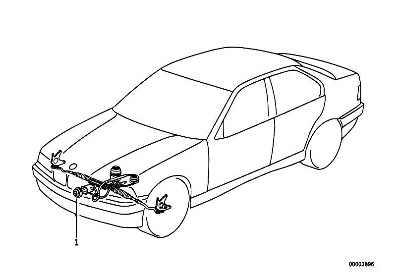 Original Parts for E36 316i M40 Sedan / Steering/ Hydro