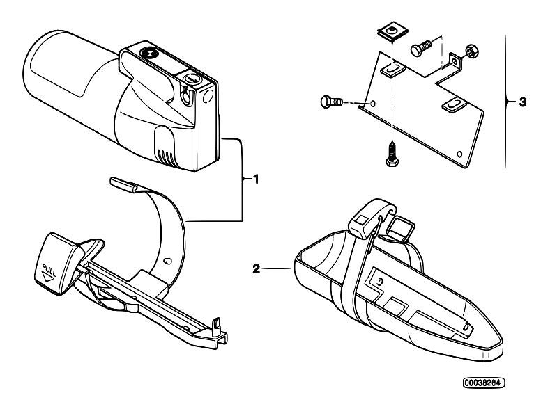 Original Parts for E36 316i M40 Sedan / Restraint System