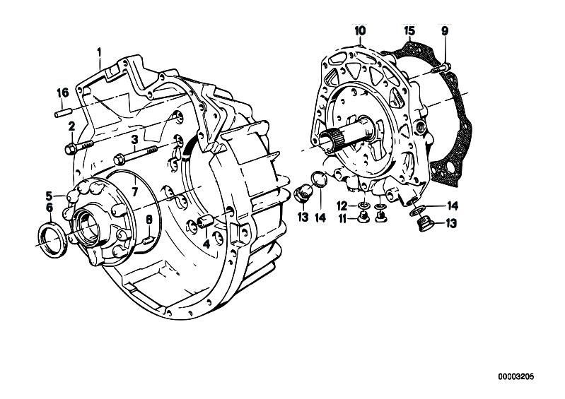 Original Parts for E32 750i M70 Sedan / Automatic