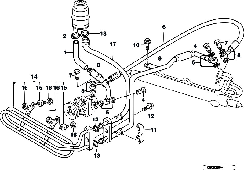 Original Parts for E36 318tds M41 Touring / Steering