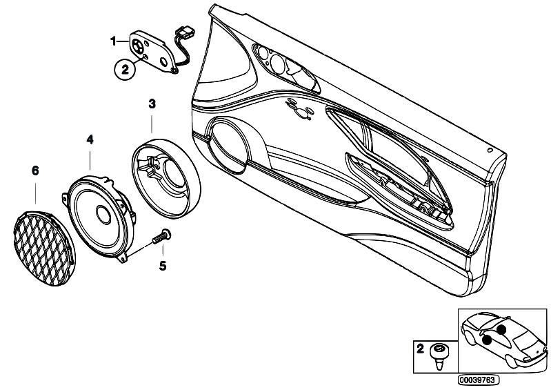 Original Parts for E46 M3 S54 Coupe / Audio Navigation