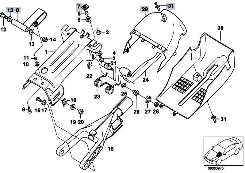 Original Parts for E39 520d M47 Sedan / Steering/ Manually