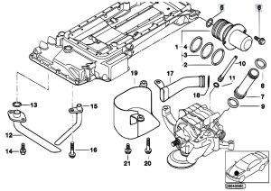 Original Parts for E39 M5 S62 Sedan  Engine Oil Pan