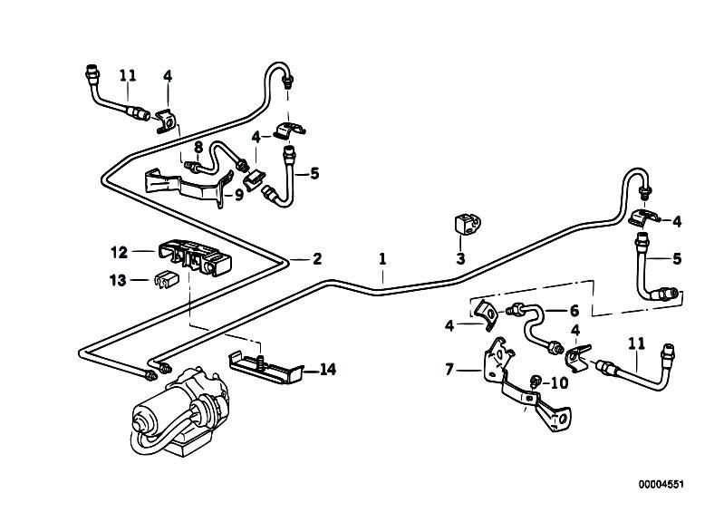 Original Parts for E36 320i M50 Cabrio / Brakes/ Brake