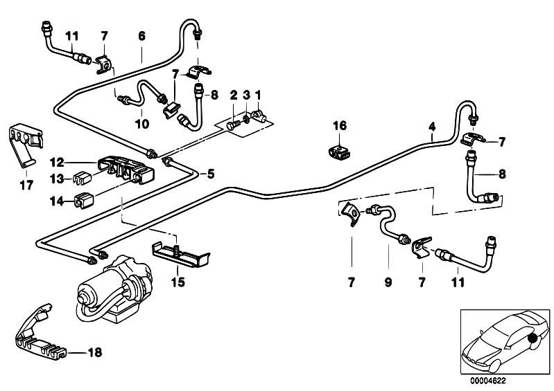 Original Parts for E36 316i 1.9 M43 Compact / Brakes