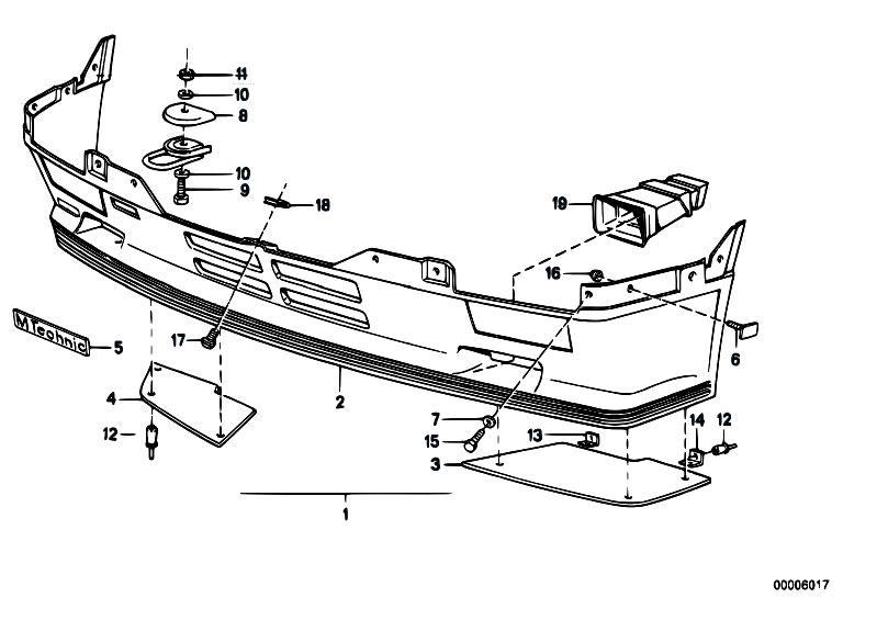 Original Parts for E30 320i M20 Cabrio / Vehicle Trim
