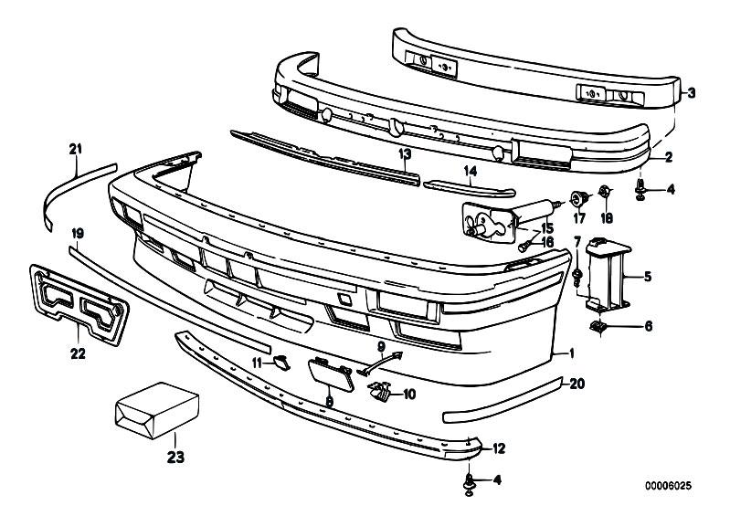 Original Parts for E30 M3 S14 2 doors / Vehicle Trim