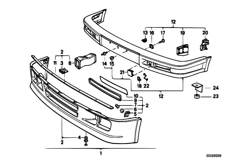 Original Parts for E30 325i M20 2 doors / Vehicle Trim
