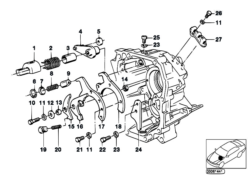 Original Parts for E34 535i M30 Sedan / Manual