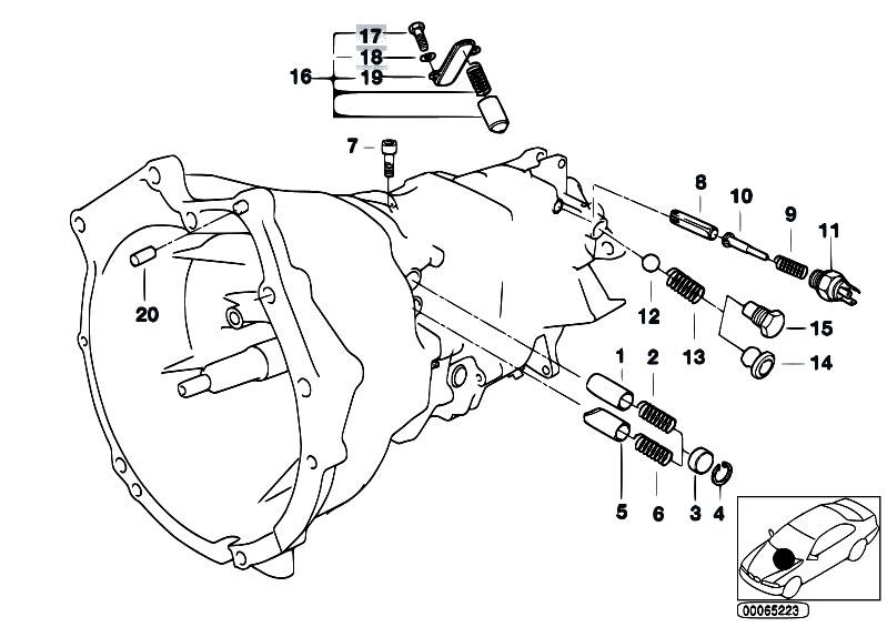 Original Parts for E39 M5 S62 Sedan / Manual Transmission