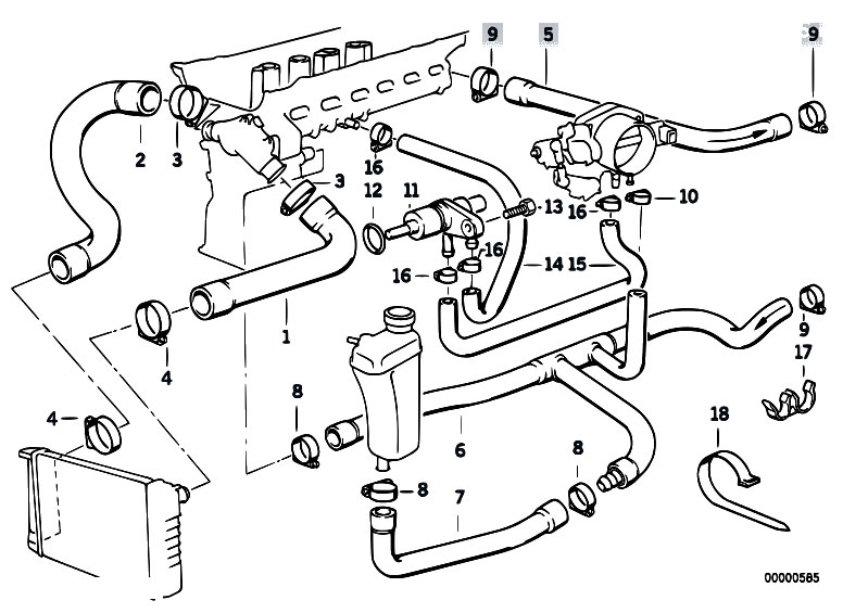 1995 Bmw 325i Engine Diagram Water Hose, 1995, Free Engine