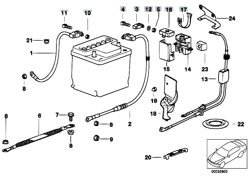 Original Parts for E36 325tds M51 Touring / Engine