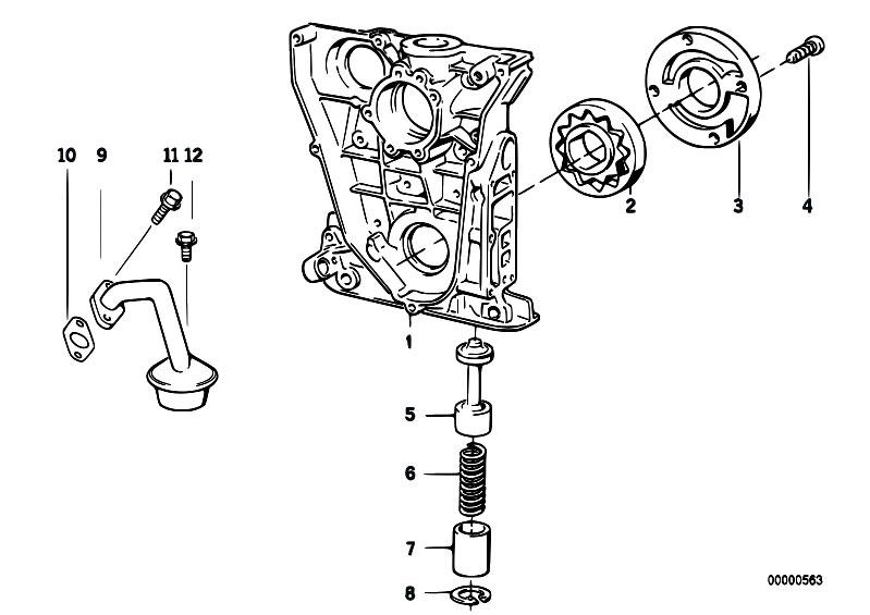 Original Parts for E36 316i 1.6 M43 Compact / Engine