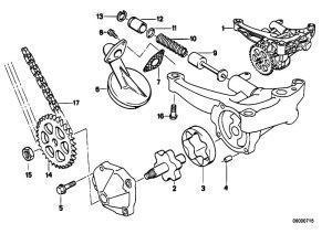 Original Parts for E34 520i M50 Touring  Engine