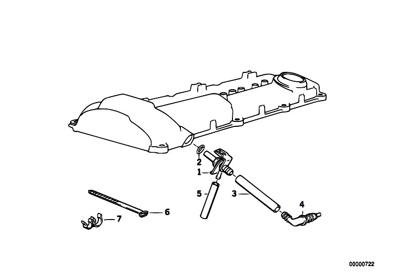 Original Parts for E36 320i M50 Sedan / Engine/ Crankcase