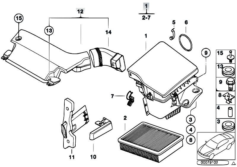Original Parts for E46 330i M54 Touring / Fuel Preparation